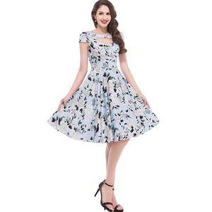 Dresses & Skirts - 🎈SALE🎈Vintage Inspired Light Blue Dress